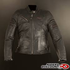 armored leather motorcycle jacket spidi ace leather ladies jacket