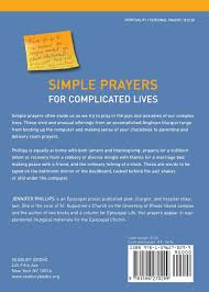 simple prayers for complicated lives phillips