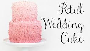 wedding cake buttercream pink petal buttercream wedding cake cake style