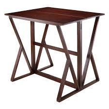 drop leaf coffee tables winsome harrington drop leaf high table 94139 walmart canada