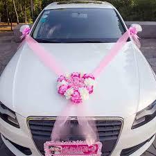 wedding car decorations wedding car decorative flowers wreaths artificial flowers car