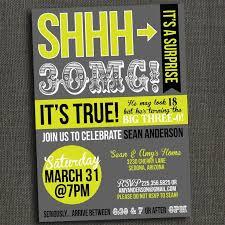 surprise 30th birthday invitations surprise 30th birthday