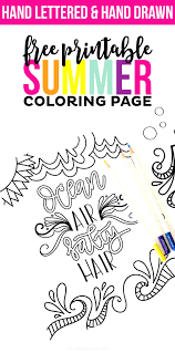 free coloring reading summer fun camping reader bee friends