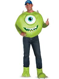monsters inc costumes monsters inc mike deluxe costume monsters inc costumes