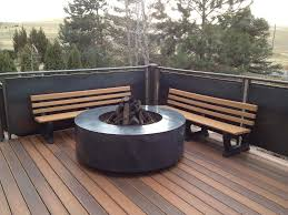 Deck Ideas The Importance Of Fire Pit Mat For Wood Deck Ideas