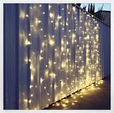 warm white led light curtain 3m x 3m light curtain