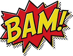 batman bam clipart