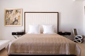 Bed With Attached Nightstands Headboard With Nightstand Attached Inspiration For Contemporary