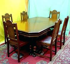dining table with hidden chairs dining room table hidden chairs