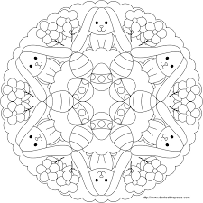 don u0027t eat paste easter bunny egg mandala color