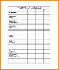 Kitchen Inventory Spreadsheet by 9 Inventory Spreadsheet Exle Balance Spreadsheet