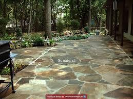 Stone Patio Design Patio Outdoor Impressions U2026it All Starts With Design