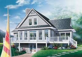 100 vacation cottage plans alternate basement floor plan