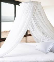 pure white extra thick elegant round top bed canopy mosquito net pure white extra thick elegant round top bed canopy mosquito net holiday resort style amazon co uk kitchen home