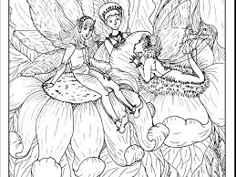 coloring pages of unicorns and fairies coloring pages fairies and unicorns fairy printable adults adult