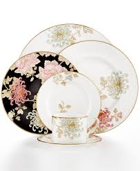 wedding registry china marchesa by lenox dinnerware painted camellia collection
