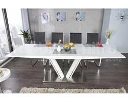 charmant table salle a manger blanche design 14 meuble de salon