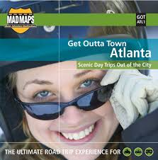 City Map Glasses Mad Maps Gotatl1 Get Outta Town Scenic Road Trips Map Atlanta