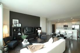 black accent wall 20 knockout black accent wall in the living