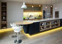 Led Kitchen Lighting Fixtures Kitchen Lighting Led Light Fixture Abstract Satin Nickel