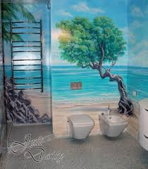 bathroom wall mural ideas 45 best bathroom murals images on bathroom mural