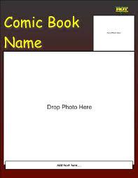 comic book cover template eliolera com