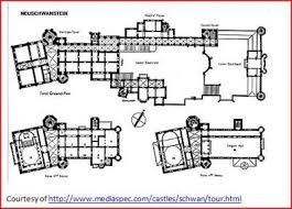 Floor Plan Castle Neuschwanstein Castle Floor Plan Neuschwanstein Bavaria