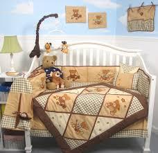 Nursery In A Bag Crib Bedding Set Soho Classic American Teddy Baby Crib Nursery