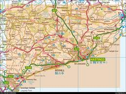 Hastings England Map by Image Gallery Hastings Map