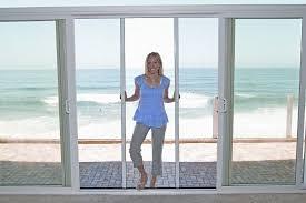 Sliding Screen Patio Door Treat Balcony Sliding Screen Door Balcony Ideas Balcony