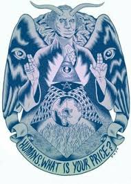 chi sono illuminati american dollar eagle holding arrows pointing toward the