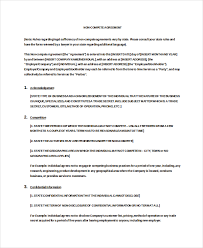 10 vendor non compete agreement template free sample example