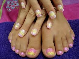 the purple pinkie nail salon bling week continued