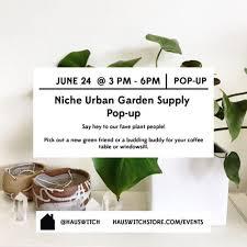 Urban Garden Supply - niche urban garden pop up salem ma