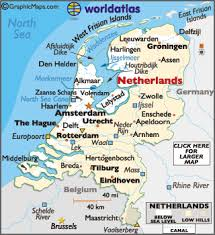 belgium and netherlands map netherlands large color map
