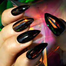 red shade nail art decoration foil high light rainbow diy nail