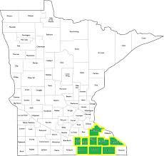 Mn Counties Map Vernon Edda Mutual Home