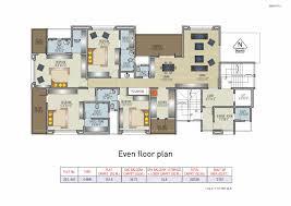 Solitaire Homes Floor Plans 4bhk Flats In Kalyani Nagar Mittal Builders