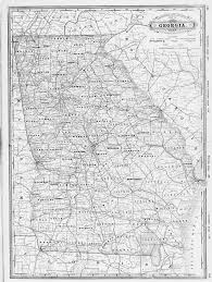 Map Of Georgia And Florida Hargrett Library Rare Map Collection Transportation