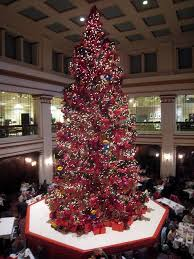 Macy S Christmas Decorations 42 Best Marshall Macy U0027s Fields Walnut Room Christmas Tree Images