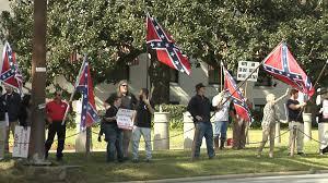 Battle Flag Of The Confederacy Rallying Against U2014 And For U2014 Confederate Flag Legislation In
