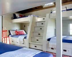 beach style beds bedroom beach style kids room with bunk bed decoviewer