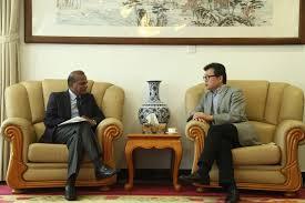 bureau du premier ministre l ambassadeur sun gongyi rencontre le conseiller du bureau du