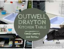 Outwell Richmond Kitchen Table Review - Outwell sudbury kitchen table