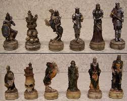 Chess Sets Medieval Chess Set Ebay