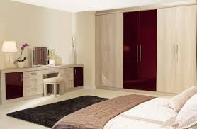 most effective small bedroom fitted wardrobe ideas wooden stool