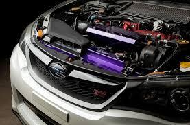 purple subaru cobb tuning subaru radiator shroud alternator cover royal