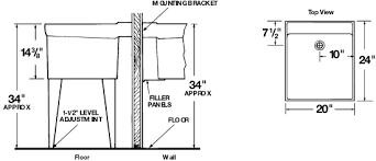 laundry sink plumbing diagram 18f 18w utilatub durastone direct distributors marketing