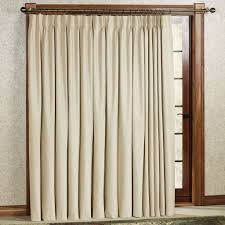 Curtains For Entrance Door Modern Cream Satin Patio Door Curtain With Pinch Pleat Ring Of