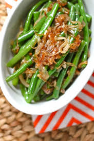 green beans with caramelized shallots the corner kitchen